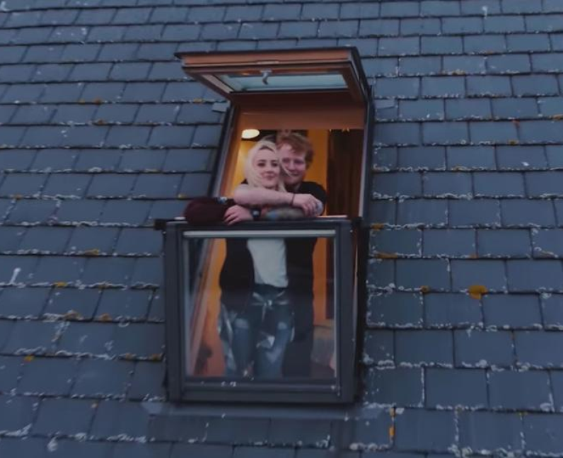Ed Sheeran Saoirse Ronan Galway Girl Video