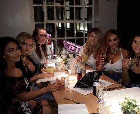 Jesy Nelson goes on girls night