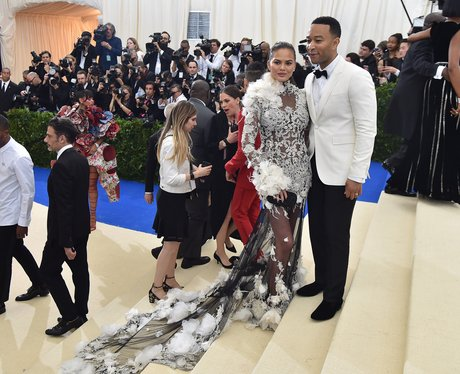 Met Gala 2017 Chrissy Teigen and John Legend
