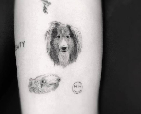Miley Cyrus gets a tattoo dedicated to her dog on