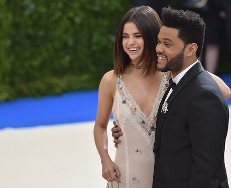 Selena Gomez and The Weeknd make red carpet debut