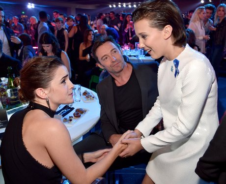 Emma Watson, Hugh Jackman and Millie Bobby Brown