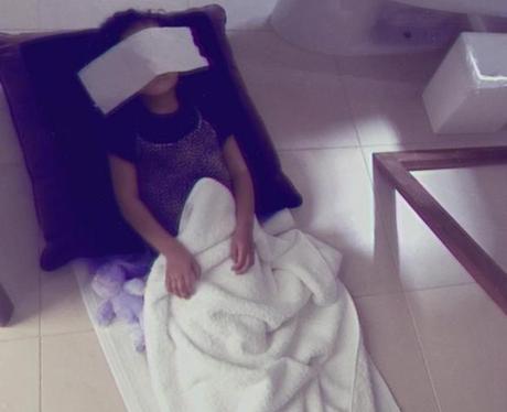 Kim Kardashian instagrams North's own spa