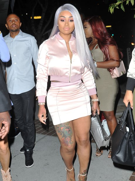 Blac Chyna shows off her famous curves in figure h