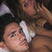 Image 9: Charlotte Crosby and Bear cosy up in bed