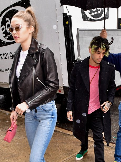 Gigi Hadid wears ring on engagement finger as she