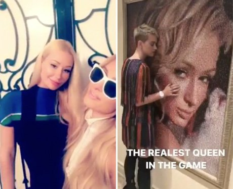 Iggy Azalea and Katy Perry hang out and fan girl o