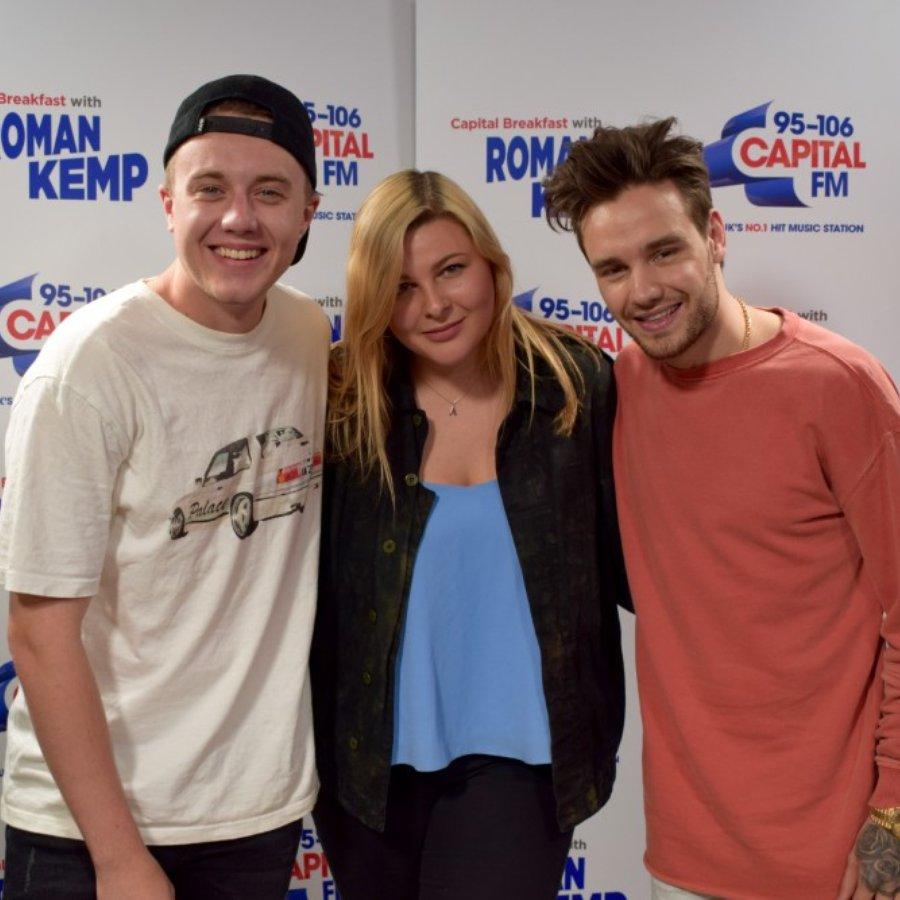 Liam Payne with Roman Kemp