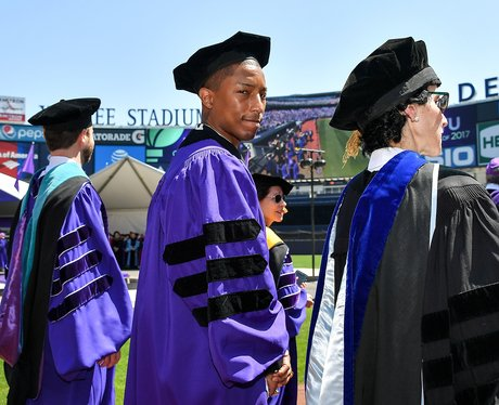 Pharrell gets an honorary doctorate from New York