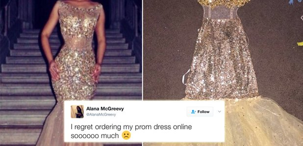 5 Heartbreaking Tweets To Remind You Never To Buy Your Prom Dress ...