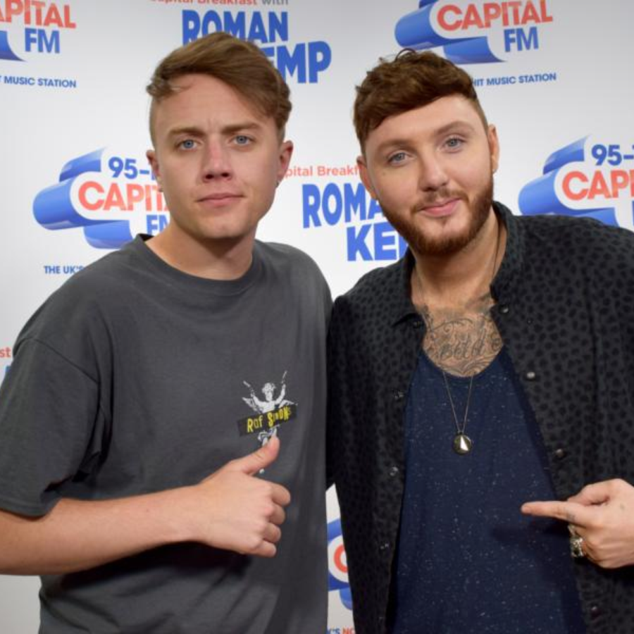 Roman Kemp and James Arthur