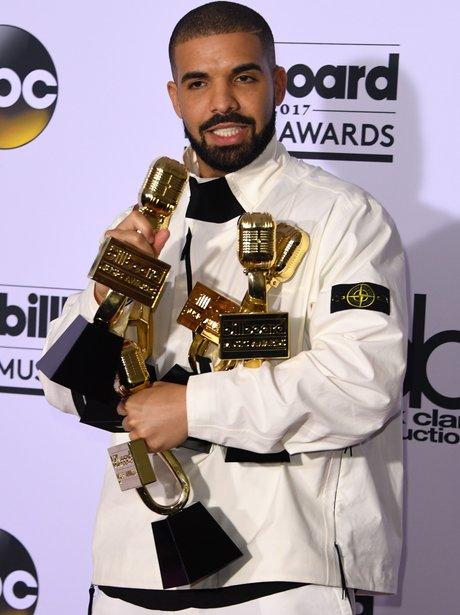 Drake picks up 13 awards at Billboard Music Awards