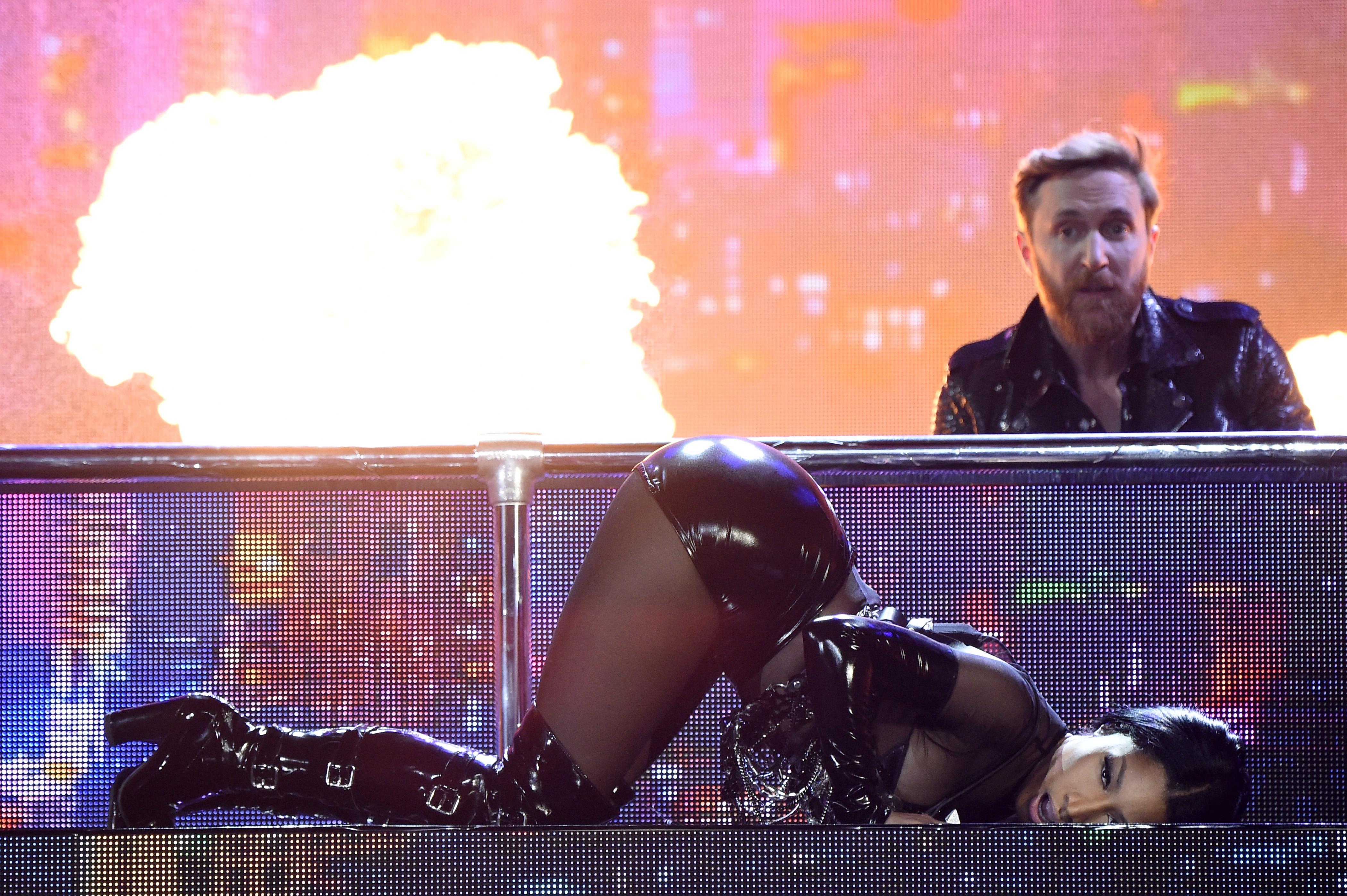 Nicki Minaj at the Billboard Music Awards 2017