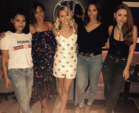 The Saturdays reunite
