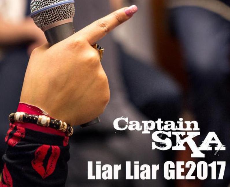 Captain Ska Liar Liar GE2017
