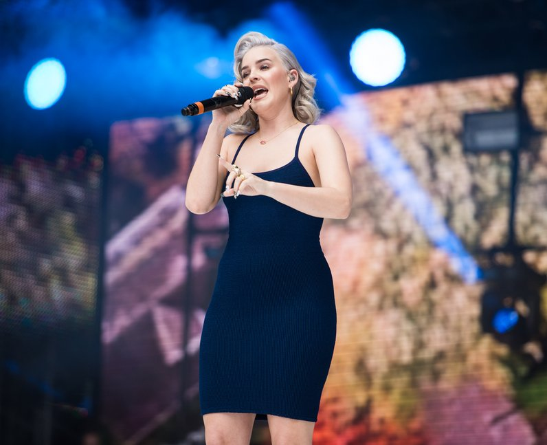 Clean Bandit and Anne-Marie at the Summertime Ball