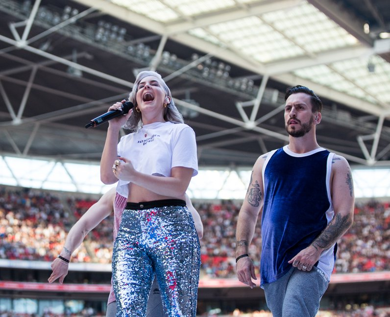 Annie-Marie at the Summertime Ball 2017