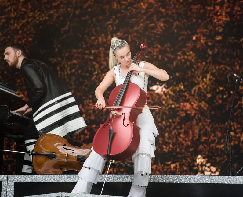 Clean Bandit at the Summertime Ball 2017