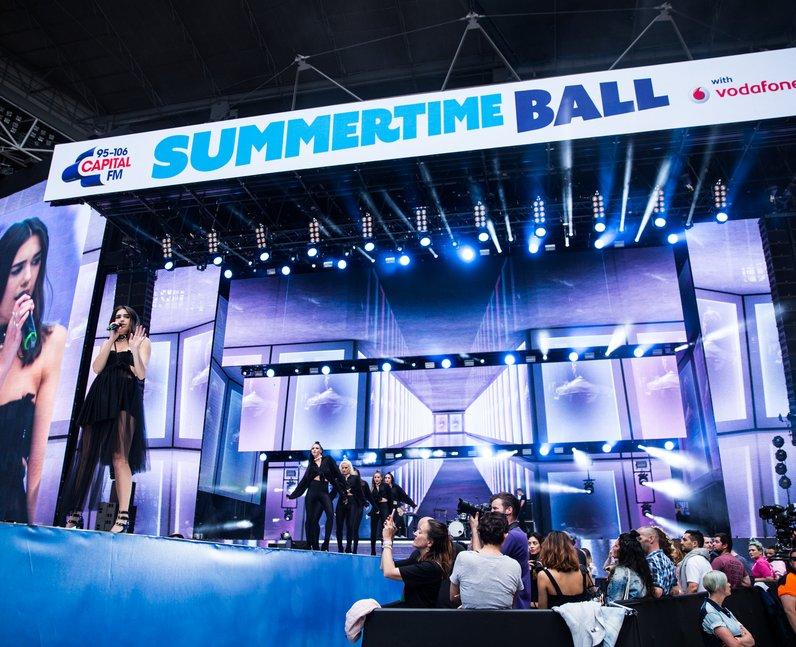 Dua Lipa at the Summertime Ball 2017