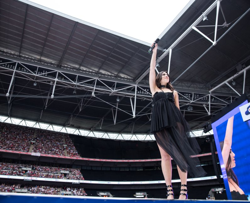 Dua Lipa at the Summertime Ball 2017
