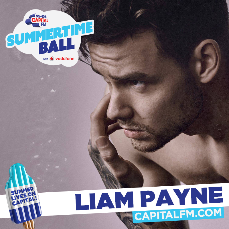Liam Payne at Capital's Summertime Ball