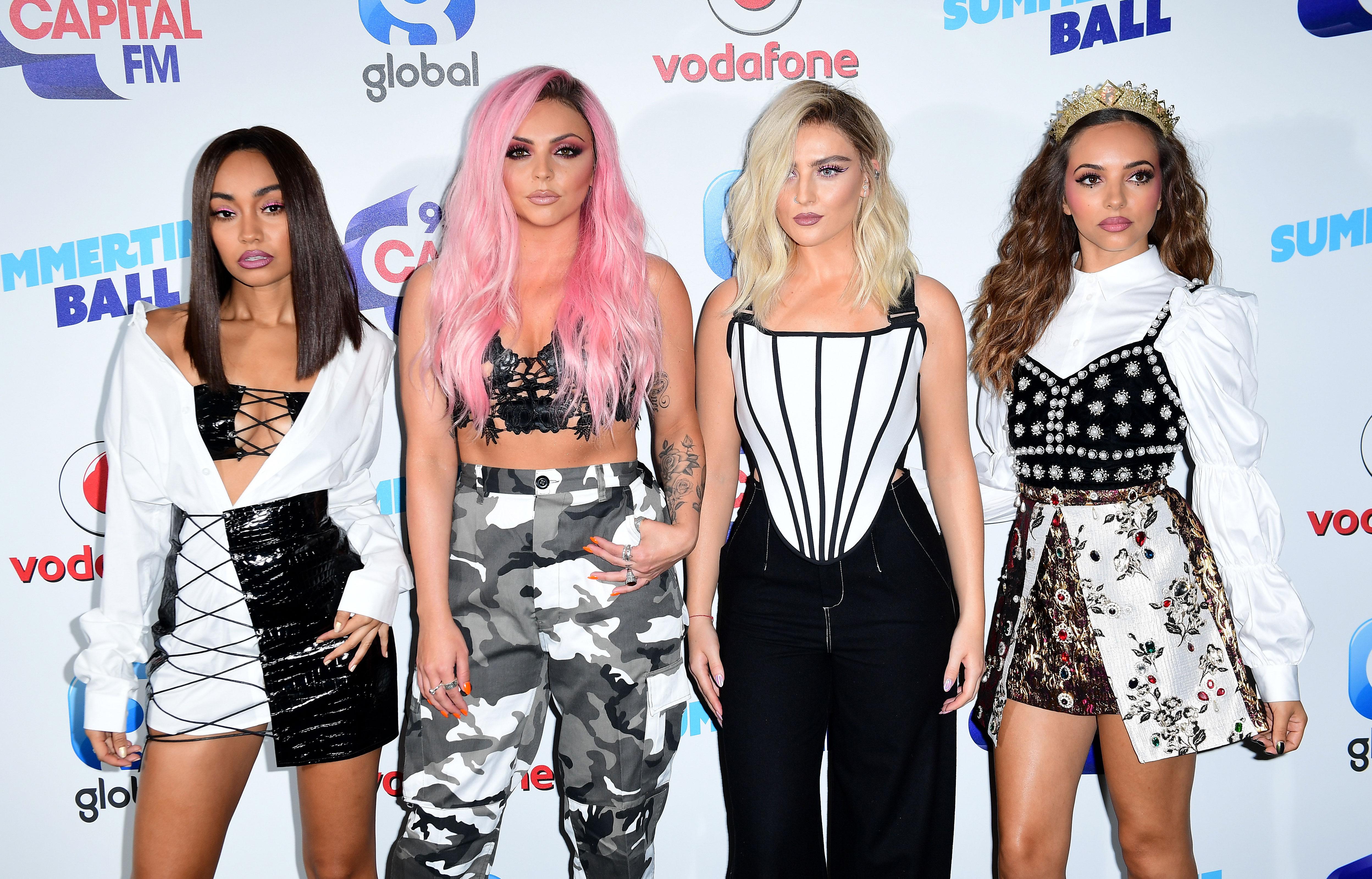 Little Mix Summertime Ball 2017 Red Carpet