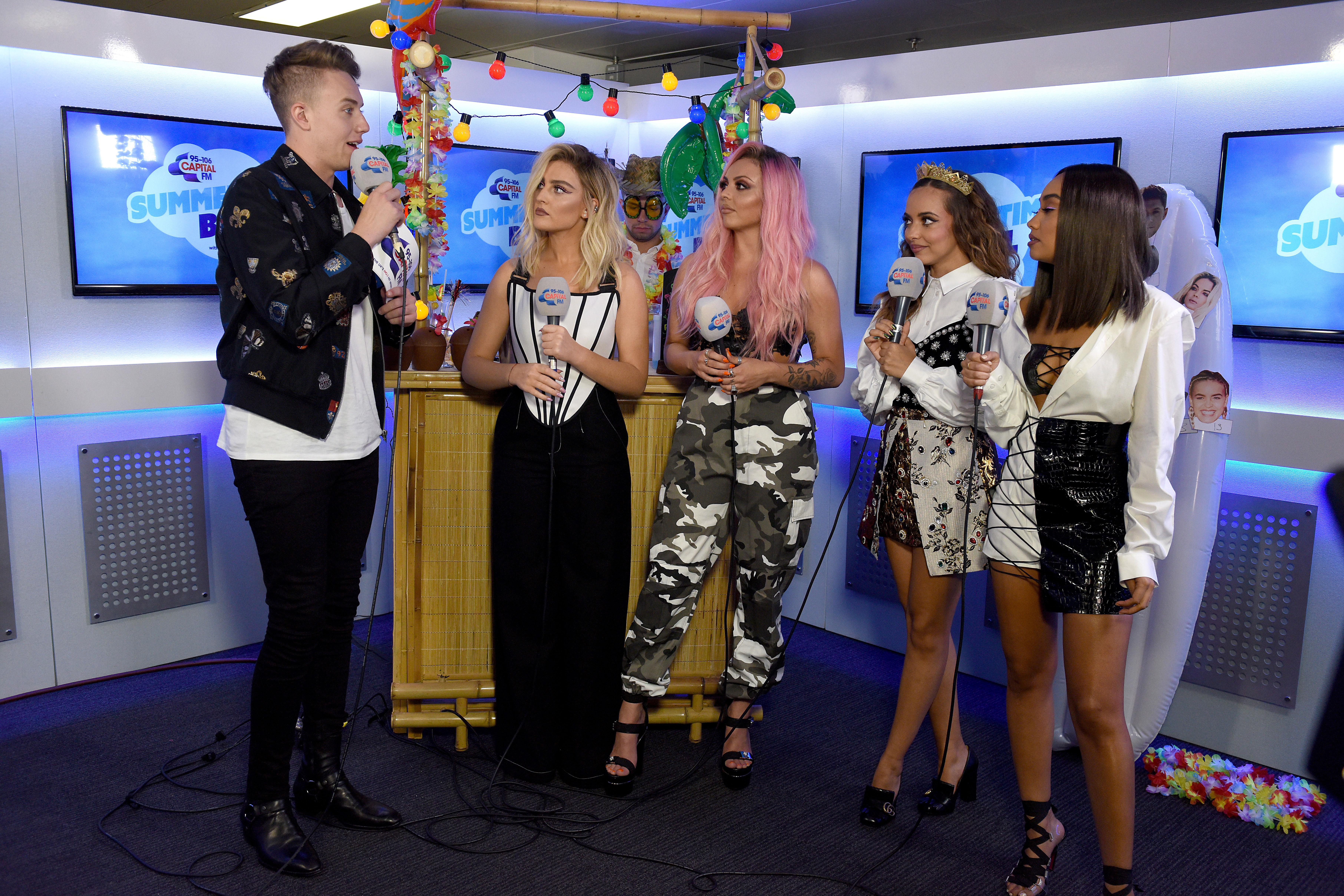Little Mix Summertime Ball 2017 Studio