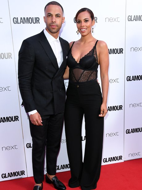 Marvin and Rochelle Humes at Glamour Women Of The