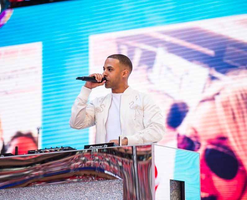 Marvin Humes at the SummertimeBall 2017
