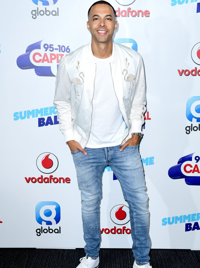 Marvin Humes Summertime Ball 2017 Red Carpet