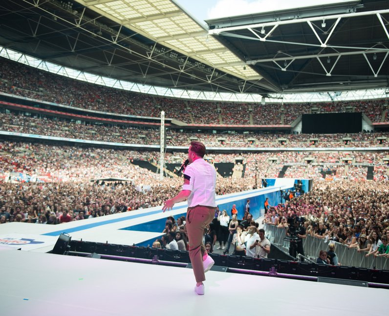 Olly Murs at the Summertime Ball 2017