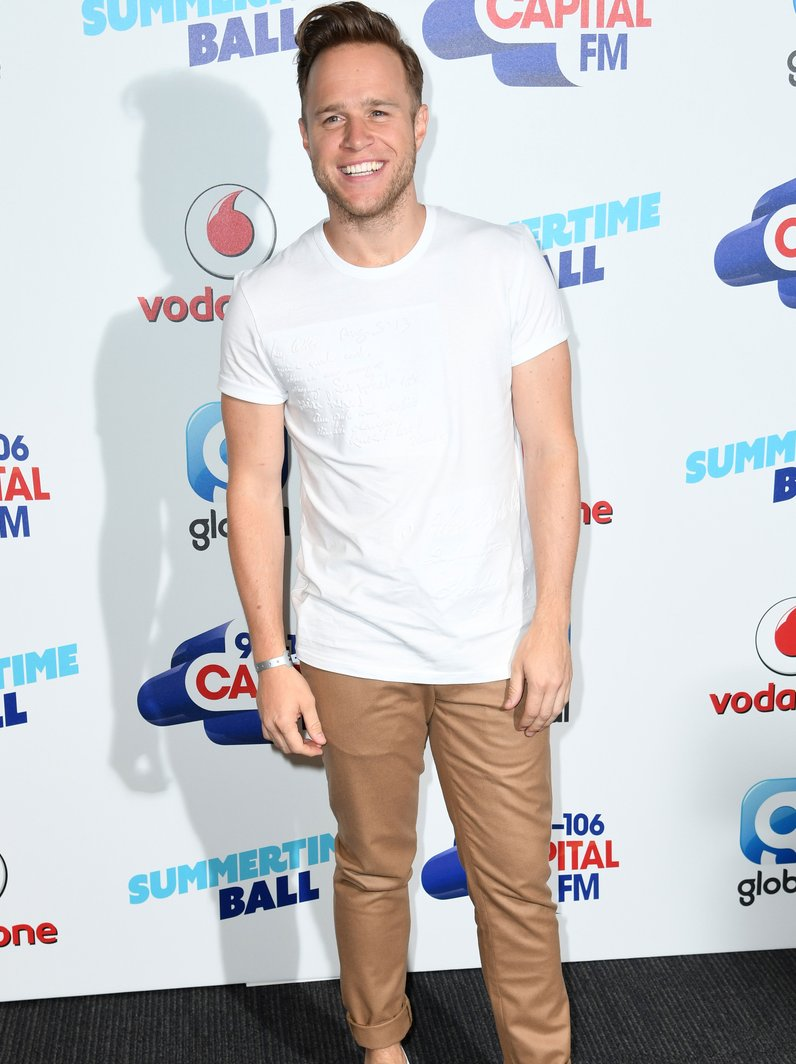 Olly Murs Summertime Ball 2017 Red Carpet