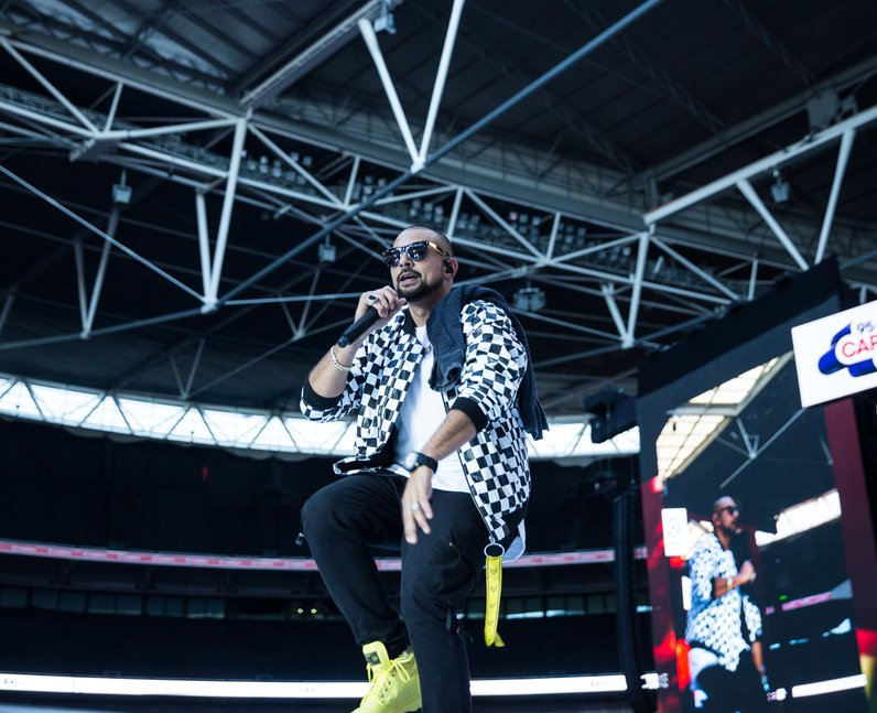 Sean Paul at the Summertime Ball 2017