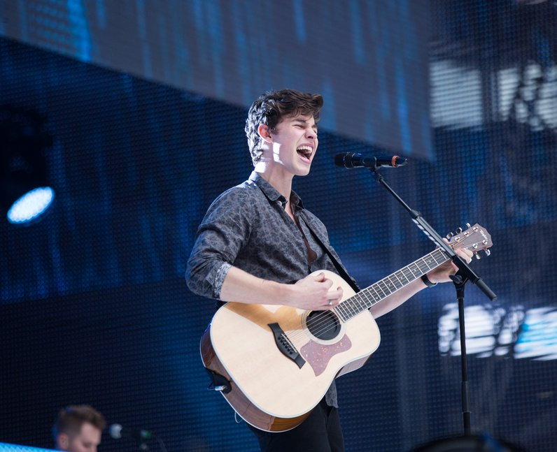 Shawn Mendes at the Summertime Ball 2017