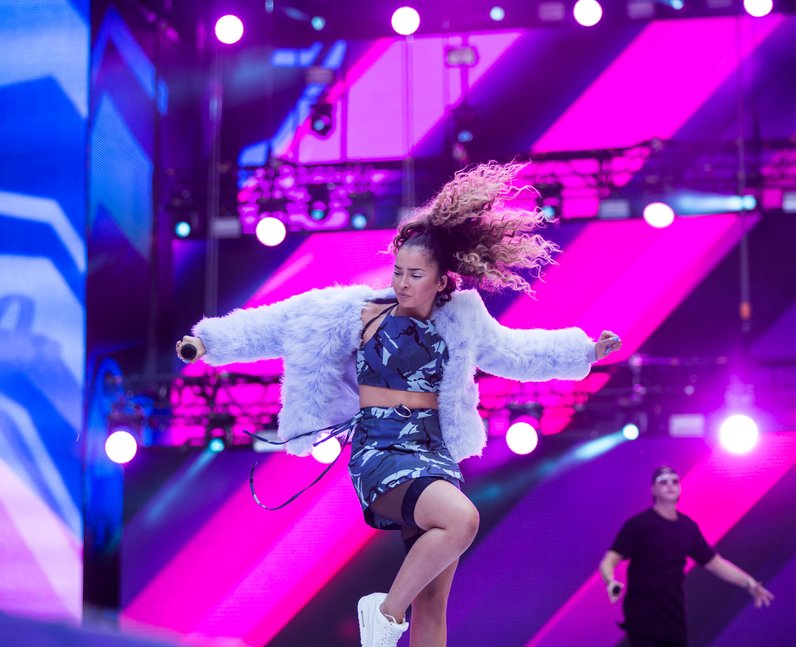 Sigala and Ella Eyre at the Summertime Ball 2017