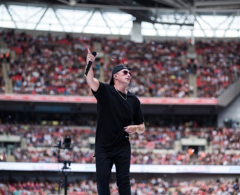 Sigala at the Summertime Ball 2017