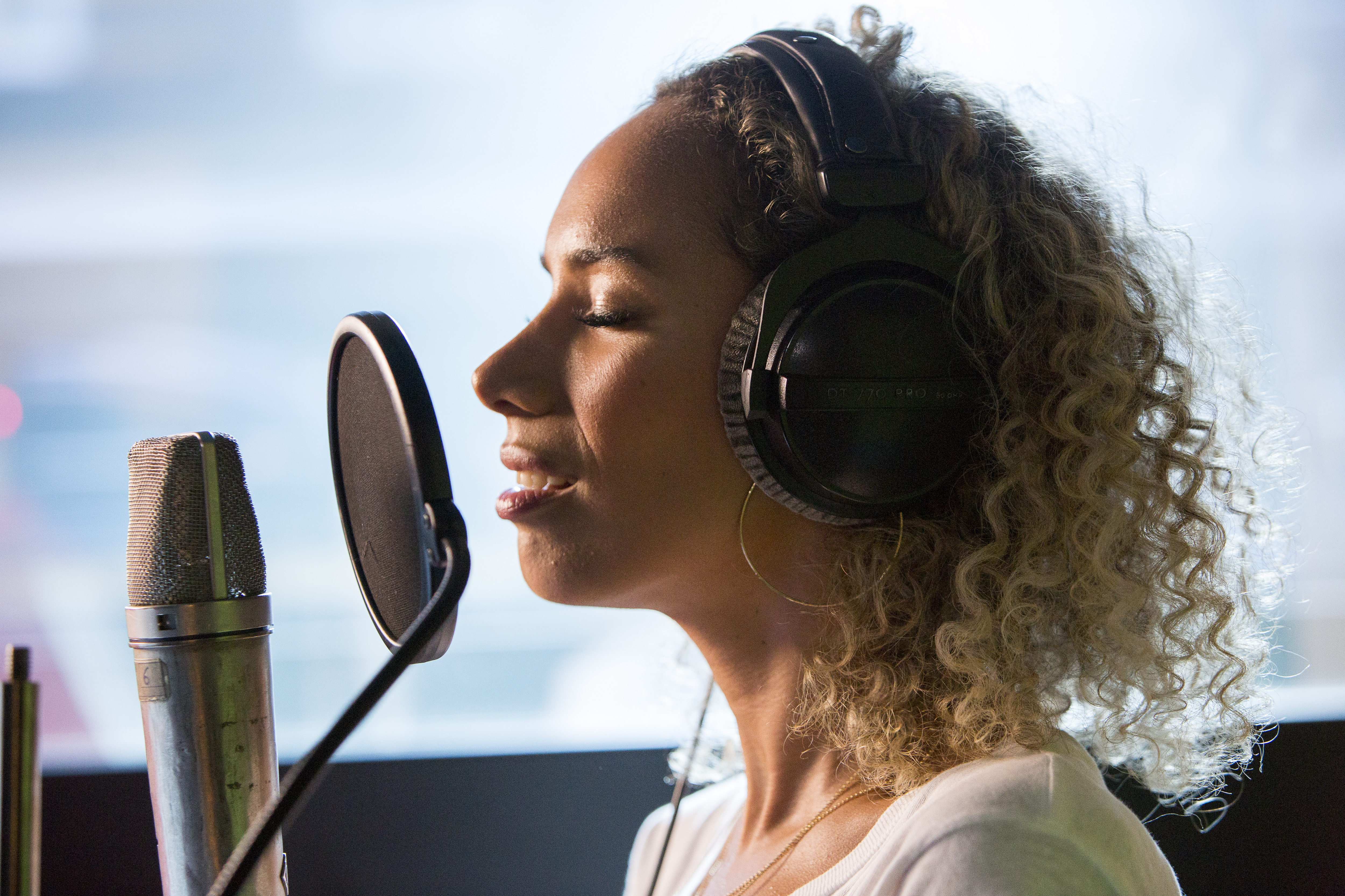 Grenfell Behind the scenes Leona Lewis