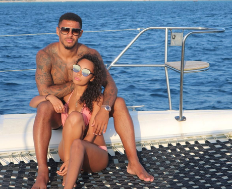 Leigh-Anne Pinnock and Andre Grey on holiday