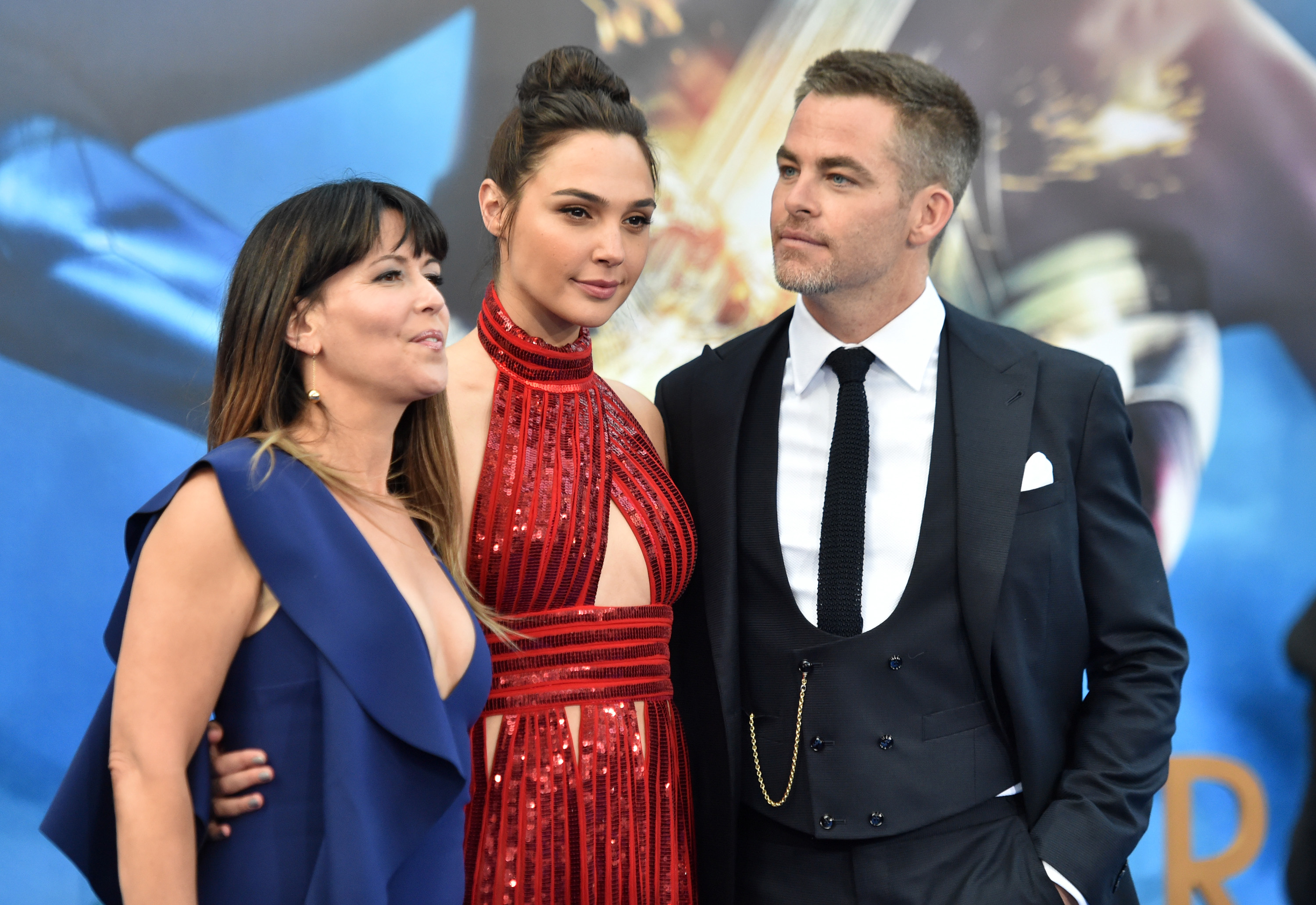 Patty Jenkins, Gal Gadot and Chris Pine Premiere Of Warner Bros. Pictures' 'Wonder Woman'
