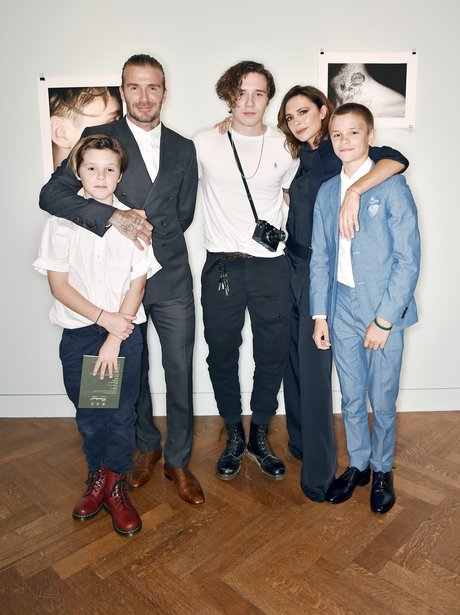 Brooklyn Beckham celebrates the launch of his book