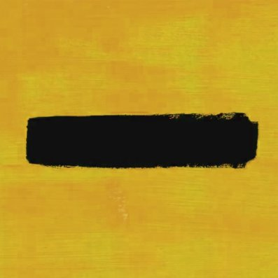 Ed Sheeran's 'Subtract Artwork (Fanmade)