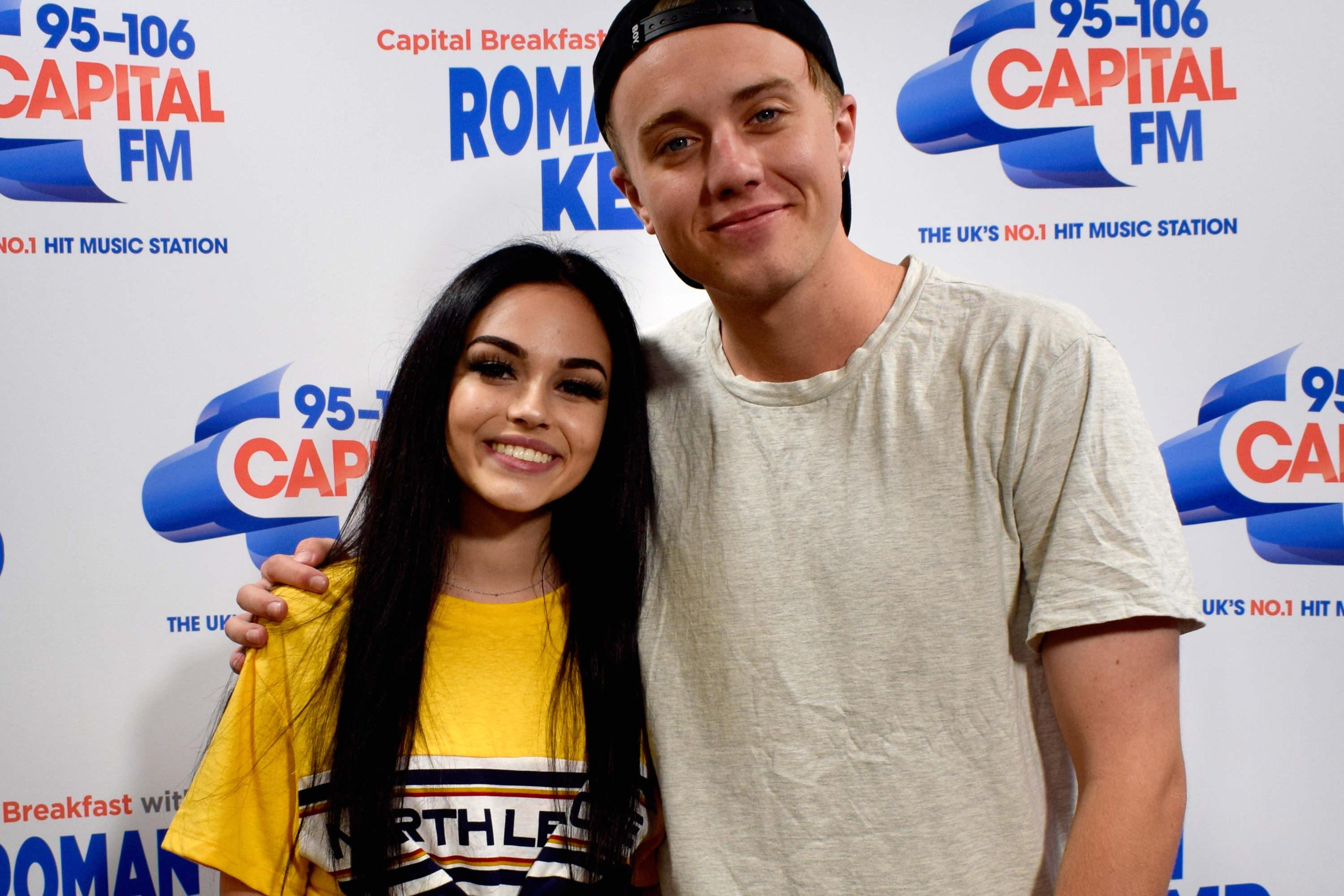 Maggie Lindemann with Roman Kemp