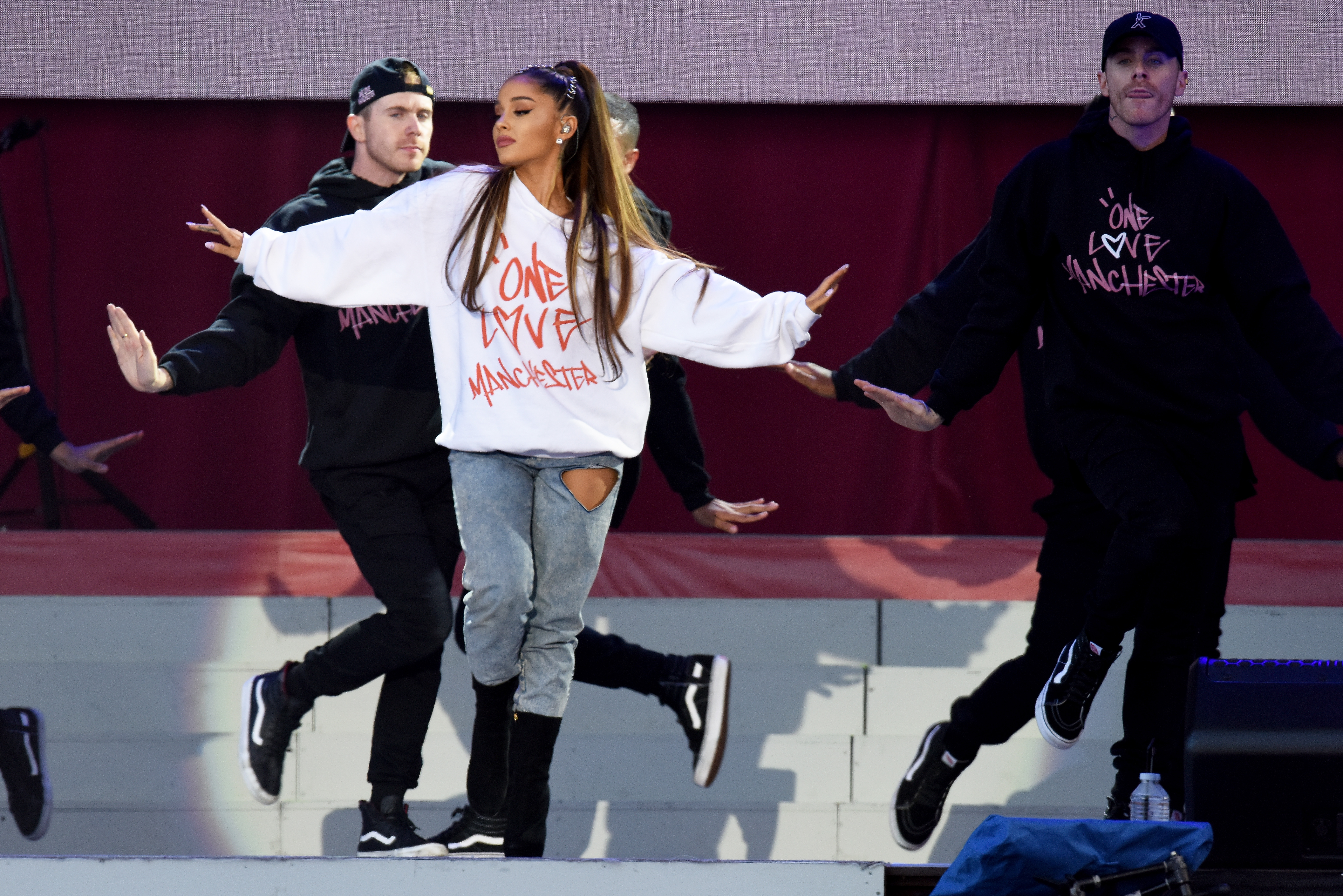 Ariana Grande at One Love Manchester