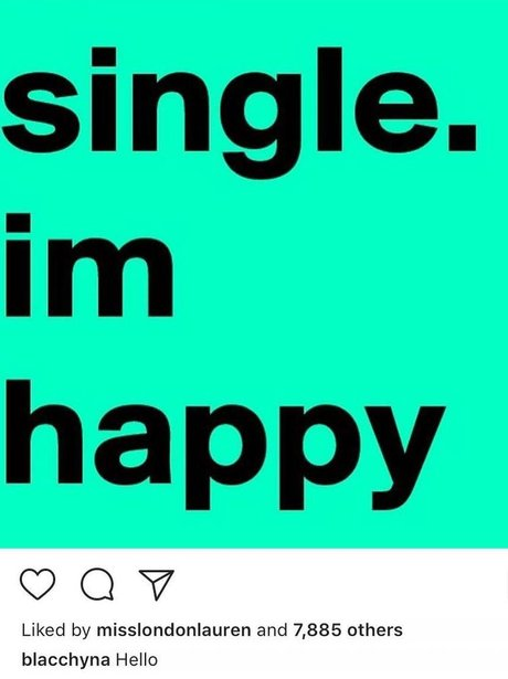 Blac Chyna declares herself as happy... and then d