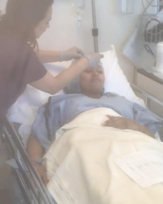 Blac Chyna in Hospital