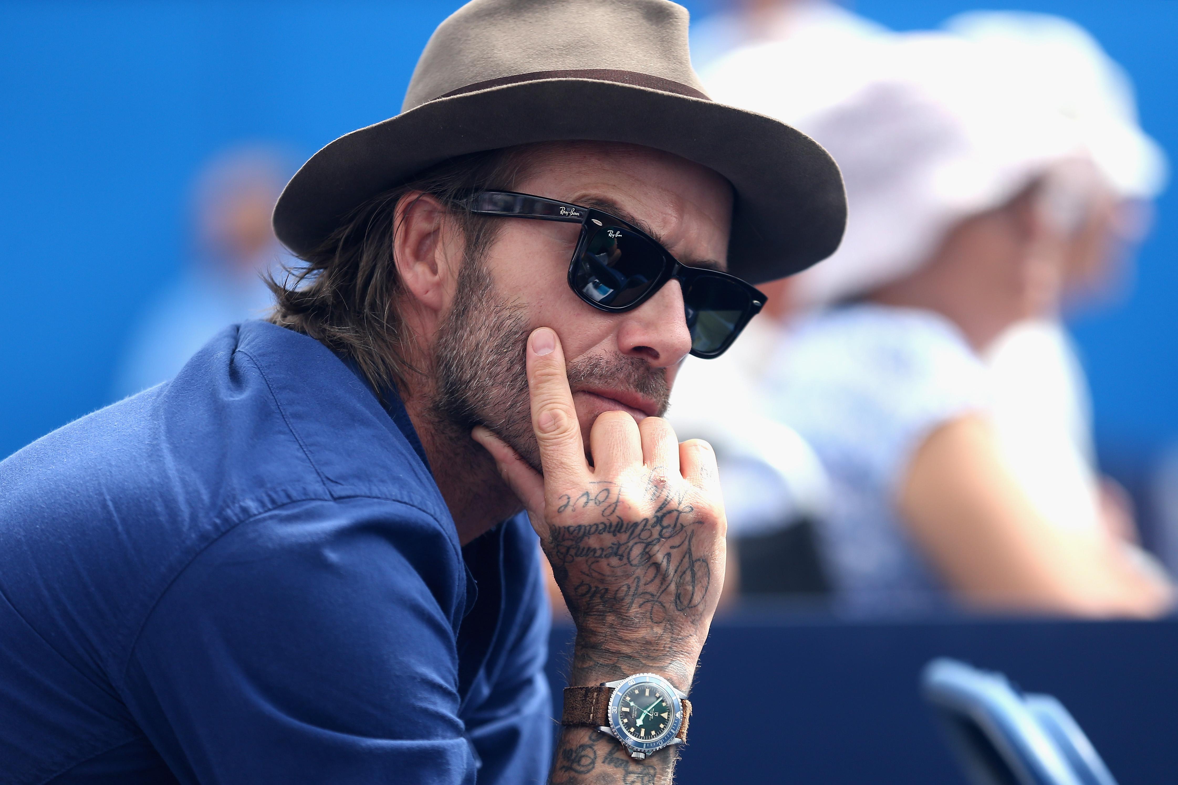 David Beckham Aegon Championships