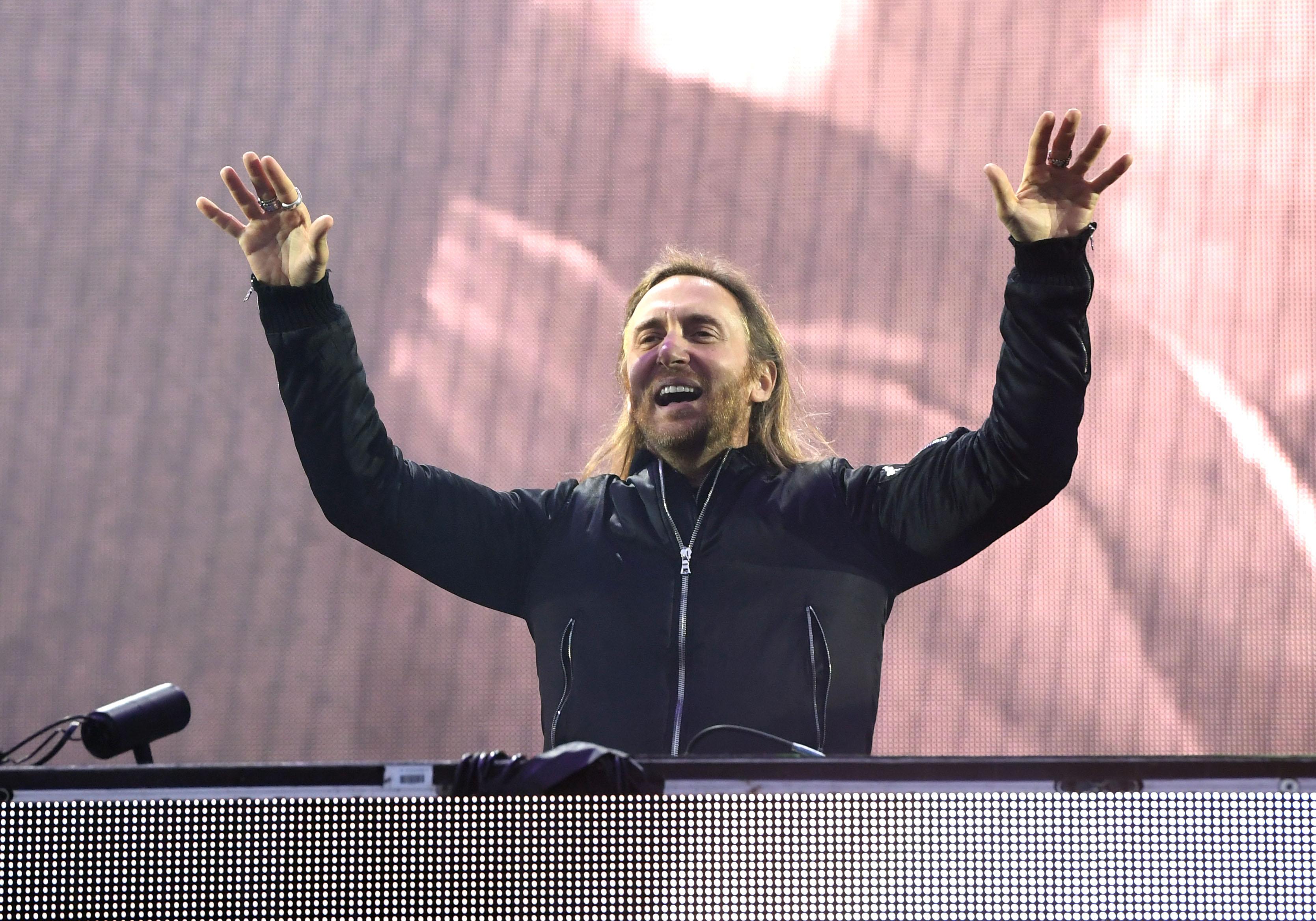 David Guetta V Festival At Hylands Park