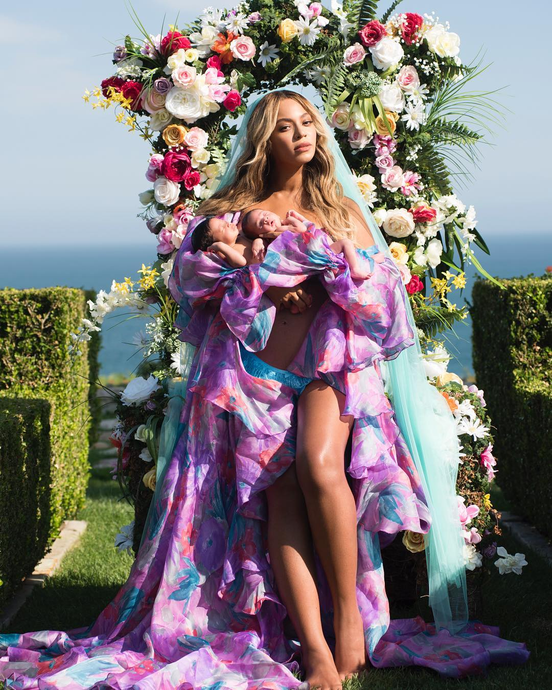 Beyoncé's First Picture Of Twins