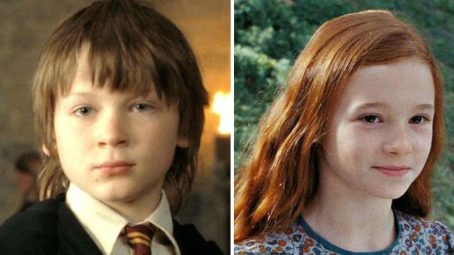 What Harry Potter's Young Lily & James Potter Look Like ...Young James Potter Scene