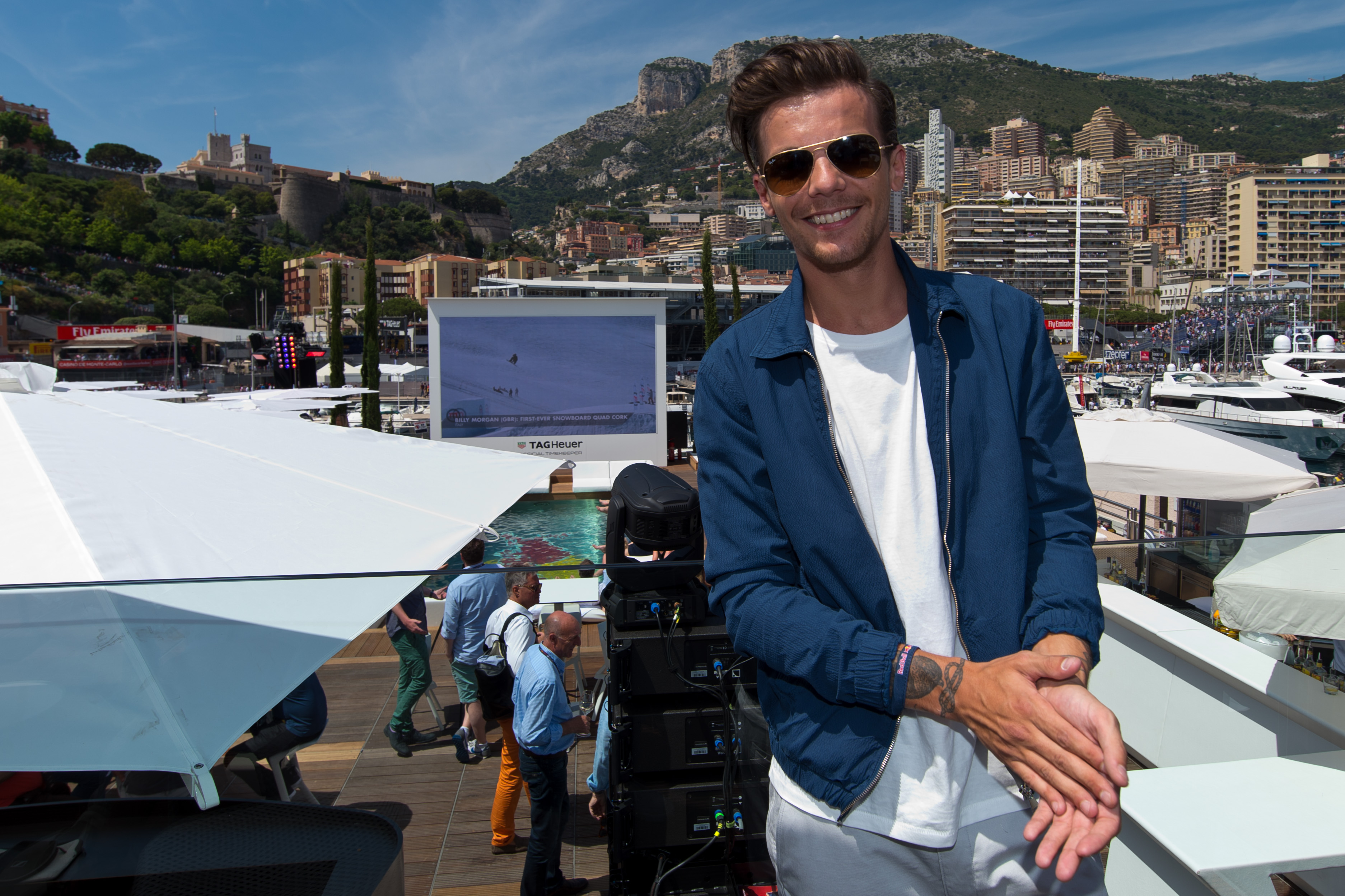 Louis Tomlinson The Red Bull Energy Station